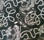 Jual Batik Cap Warna Hitam