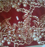 Jual Batik Cap Warna Merah Maroon