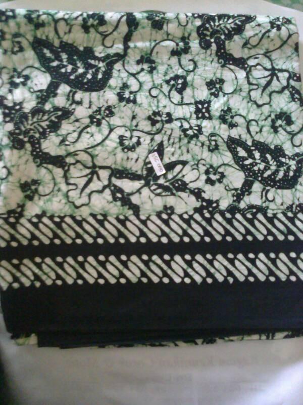 Jual Batik Cap Warna Hijau