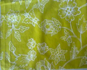 Jual Batik Tulis Warna Hijau Muda
