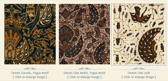 Batik Motif Semen
