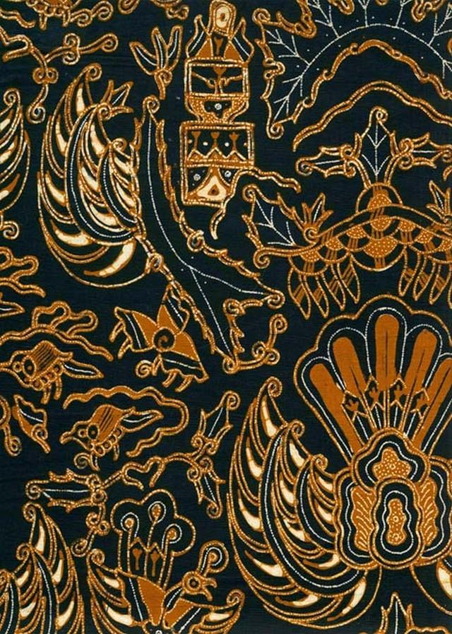 Gambar Batik Yogyakarta - motif Semen Garuda