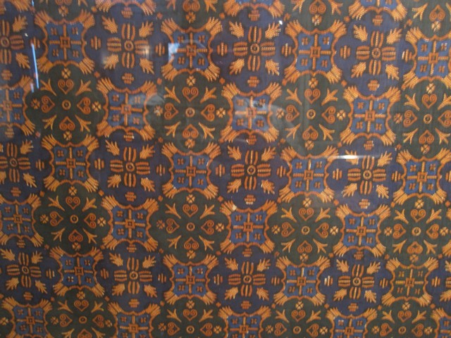 gambar batik tulis pekalongan motif jlamprang