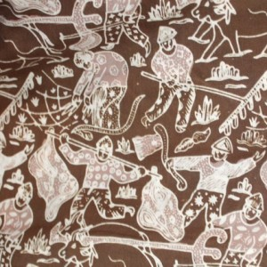gambar batik cirebon motif kompeni