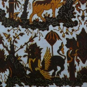 gambar batik cirebon paksi naga liman