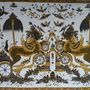 gambar batik cirebon singa barong