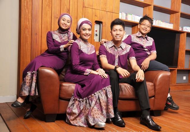 model baju batik keluarga