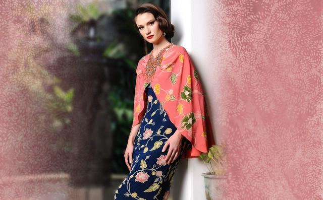 model baju batik pesta