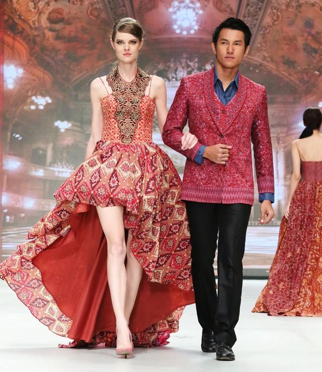 model baju batik untuk pesta