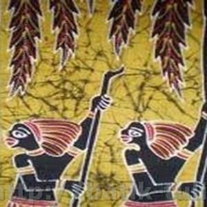 gambar batik kamoro papua