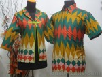 Batik Sarimbit Bolero Motif Rangrang