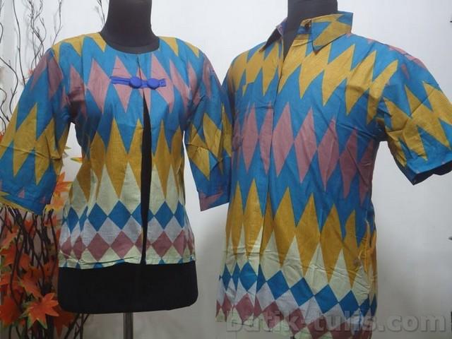 gambar jenis batik sarimbit motif rangrang