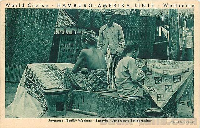 gambar sejarah batik betawi