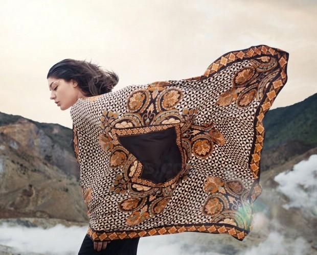 batik dewaraja scarf