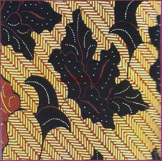 Batik Sawoan Motif Parang Sontak