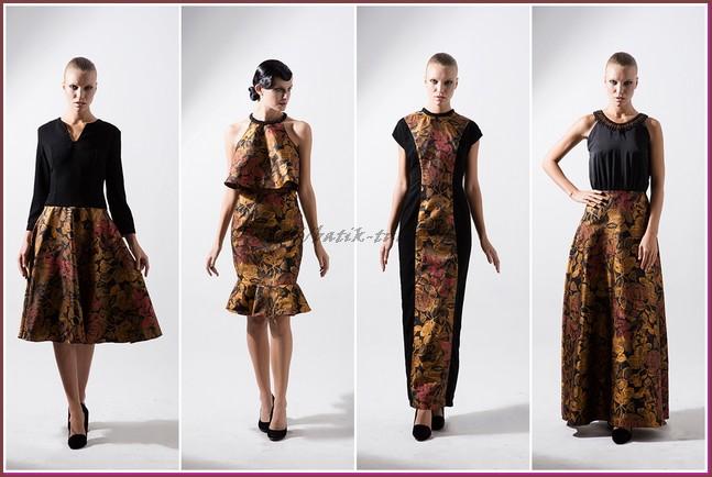 Model Baju Batik untuk Kerja yang Modis - etnik