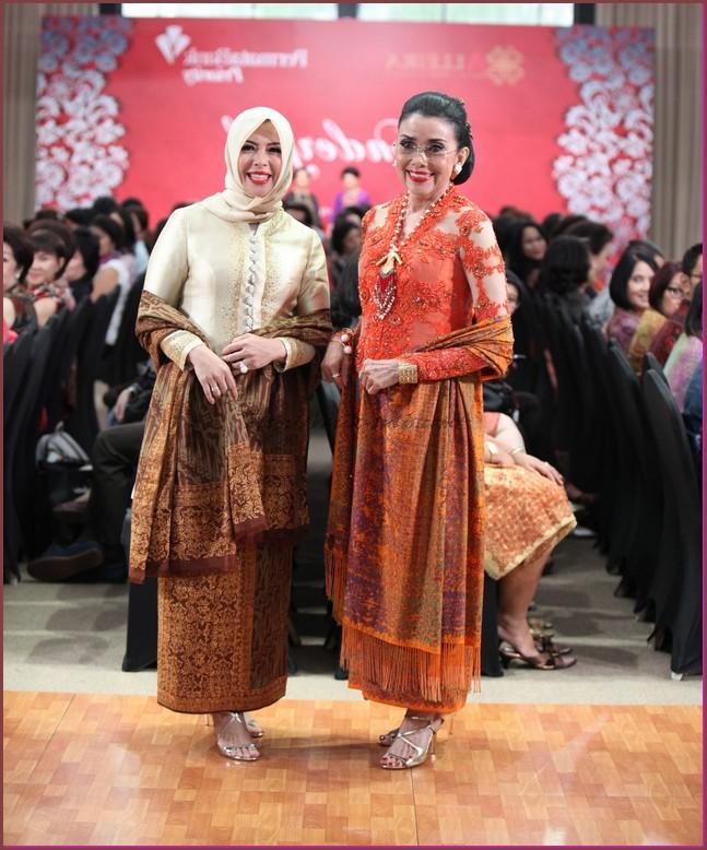 model baju batik kombinasi polos 2015