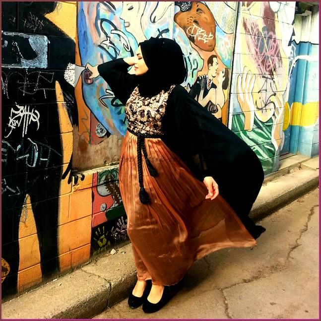 model baju batik muslim untuk wanita gemuk