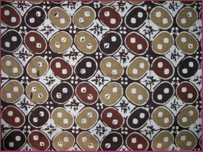 Batik Kawung dan Penjelasannya  Batik Tulis
