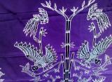 gambar batik sidomukti magetan motif jalak lawu