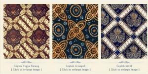 Batik yogyakarta klasik Motif Ceplok