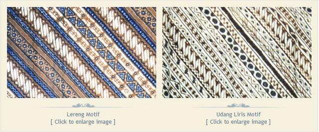 Batik klasik Motif Lereng