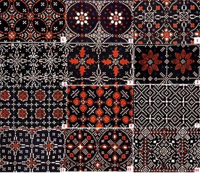 Batik yogyakarta klasik Motif isen
