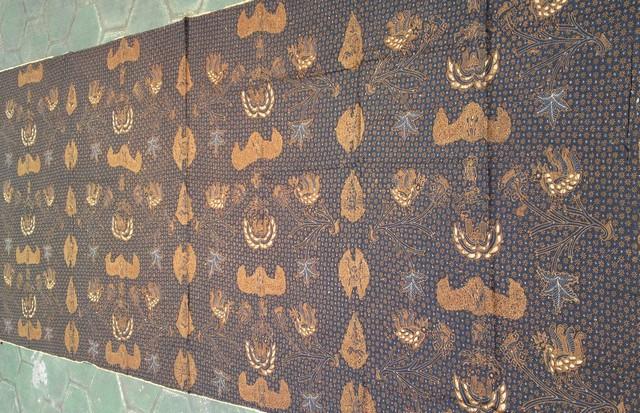 gambar Batik Truntum Wahyu Tumurun