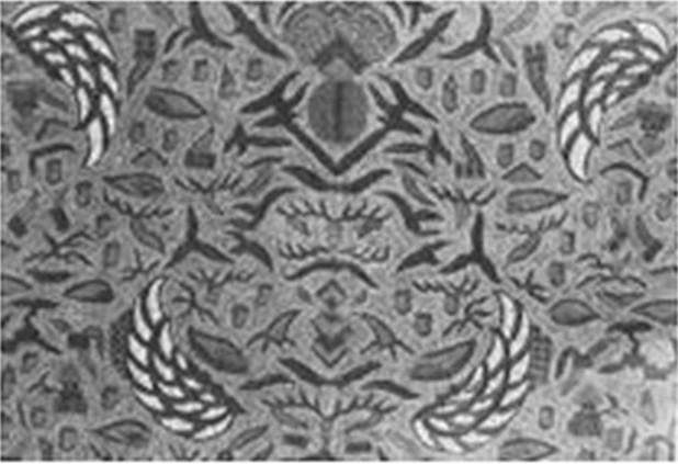 gambar batik Solo semen gendong