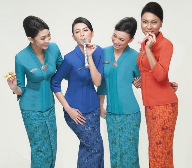 Model Baju Batik Wanita Modern Terbaru 2018