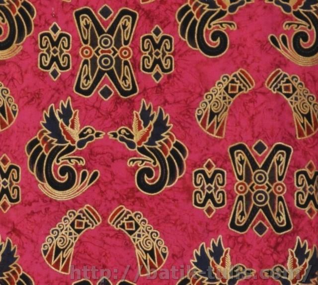 gambar batik prada papua