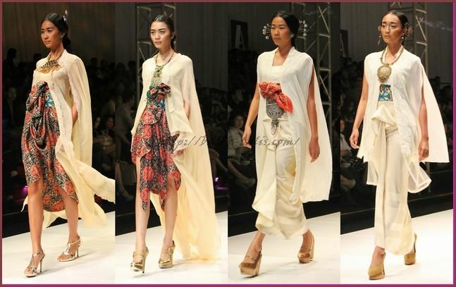 Model Baju Batik Kombinasi Untuk Wanita