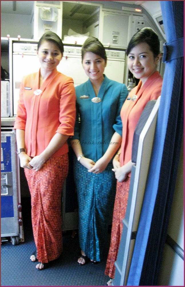 Model Baju Batik Pramugari Kebaya -- Garuda Indonesia