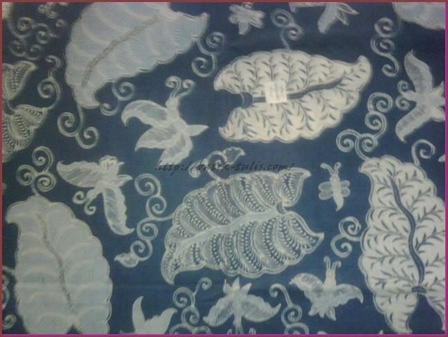 batik indigo motif lumbu
