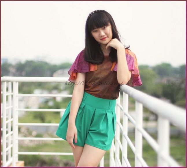 model baju batik kombinasi anak