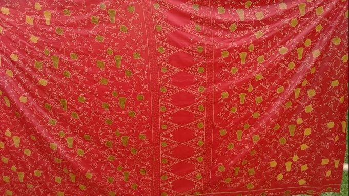 motif batik tulis salingka tabek